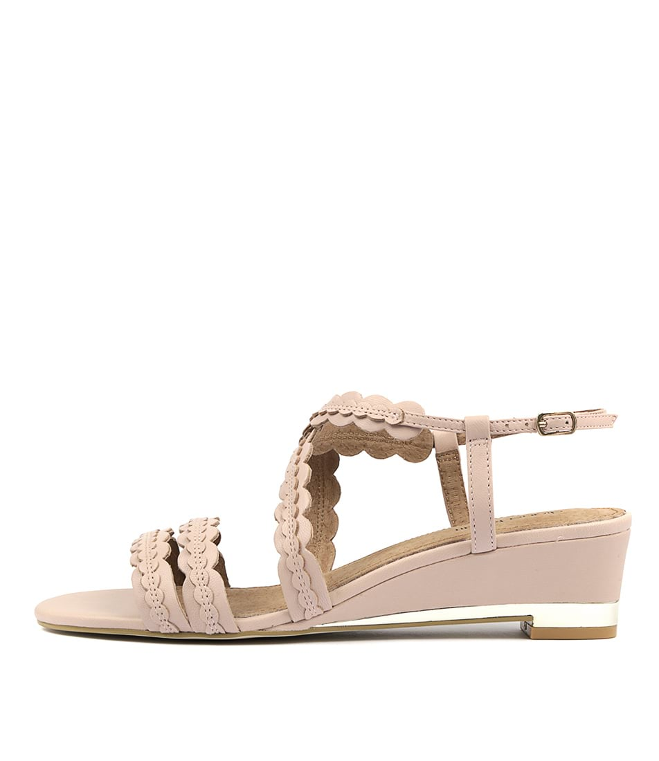 Buy Diana Ferrari Jalana Blush Heeled Sandals online with free shipping