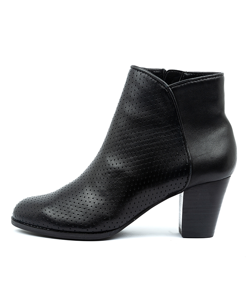 Buy Diana Ferrari Lora Df Black Ankle Boots online with free shipping