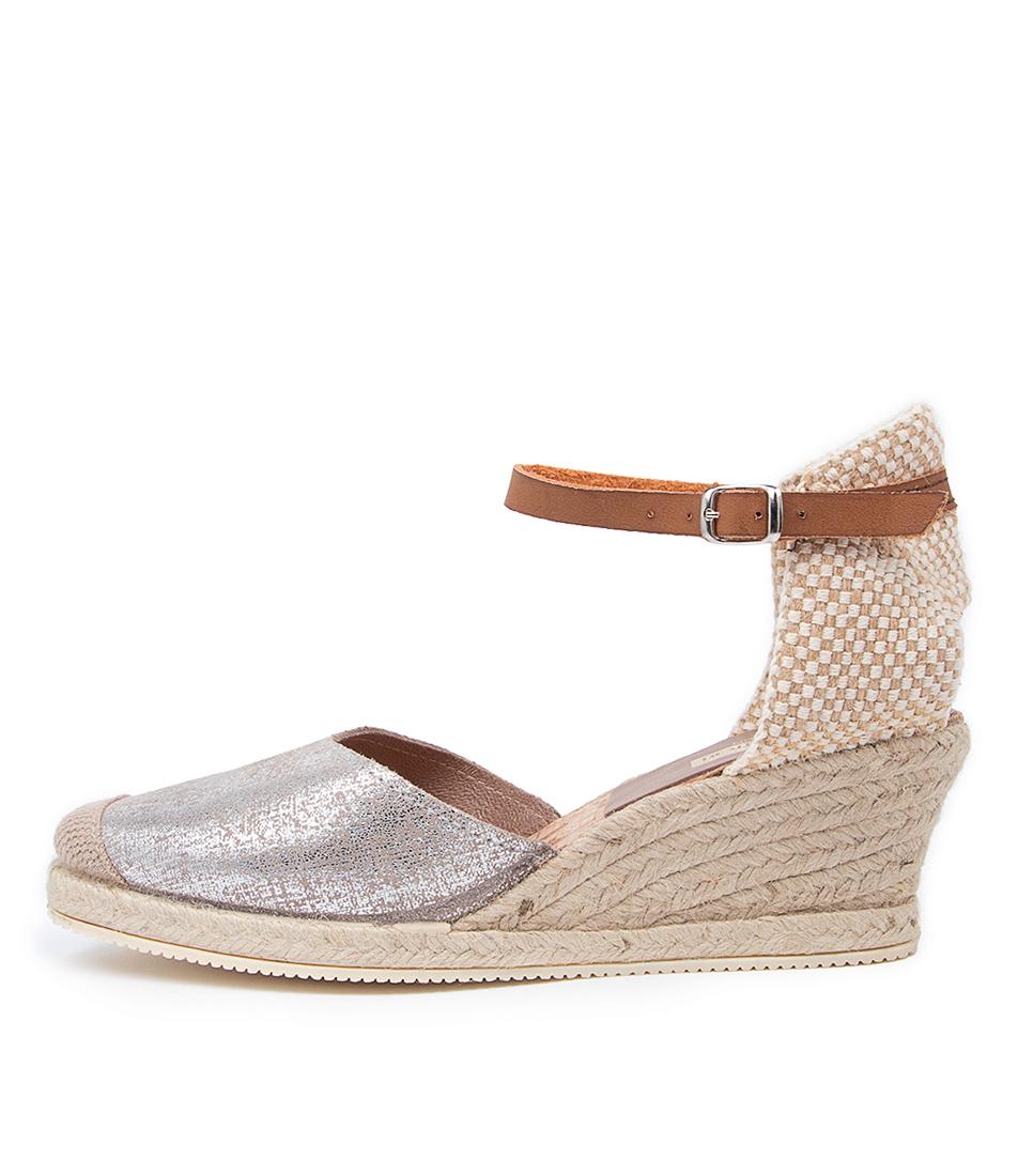 Buy Diana Ferrari Talori Df Grey & Silver High Heels online with free shipping