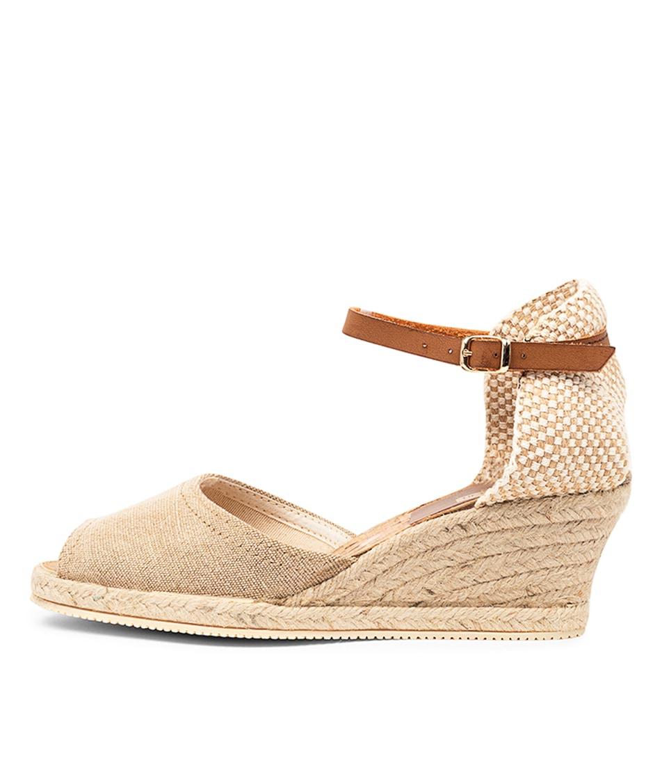 Buy Diana Ferrari Tressa Df Beige Heeled Sandals online with free shipping
