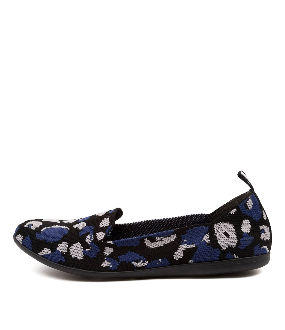 Buy Diana Ferrari Anderson Df Blue Grey Flats online with free shipping