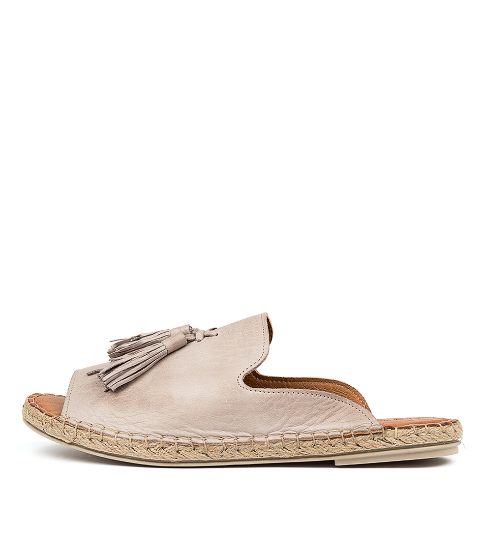 Buy Diana Ferrari Cryptic Df Piedra (Taupe) Flat Sandals online with free shipping