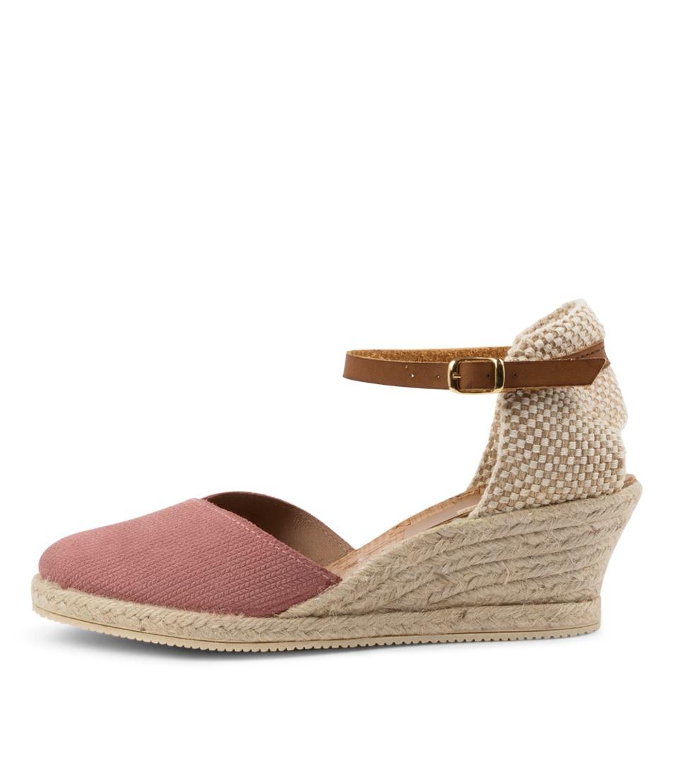Buy Diana Ferrari Trinity Df Pink Tan High Heels online with free shipping
