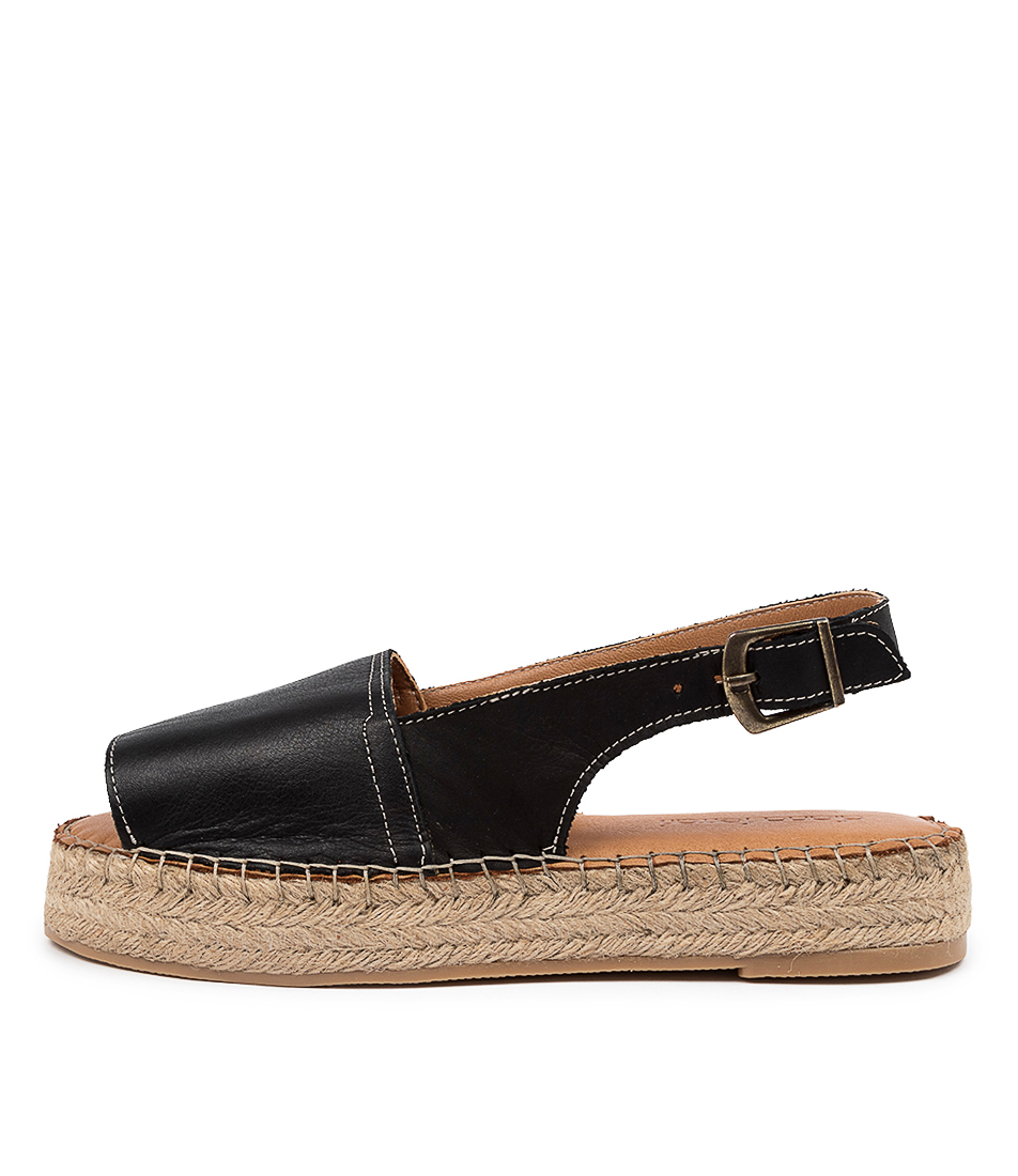 Buy Diana Ferrari Valets Df Negro (Black) Flat Sandals online with free shipping