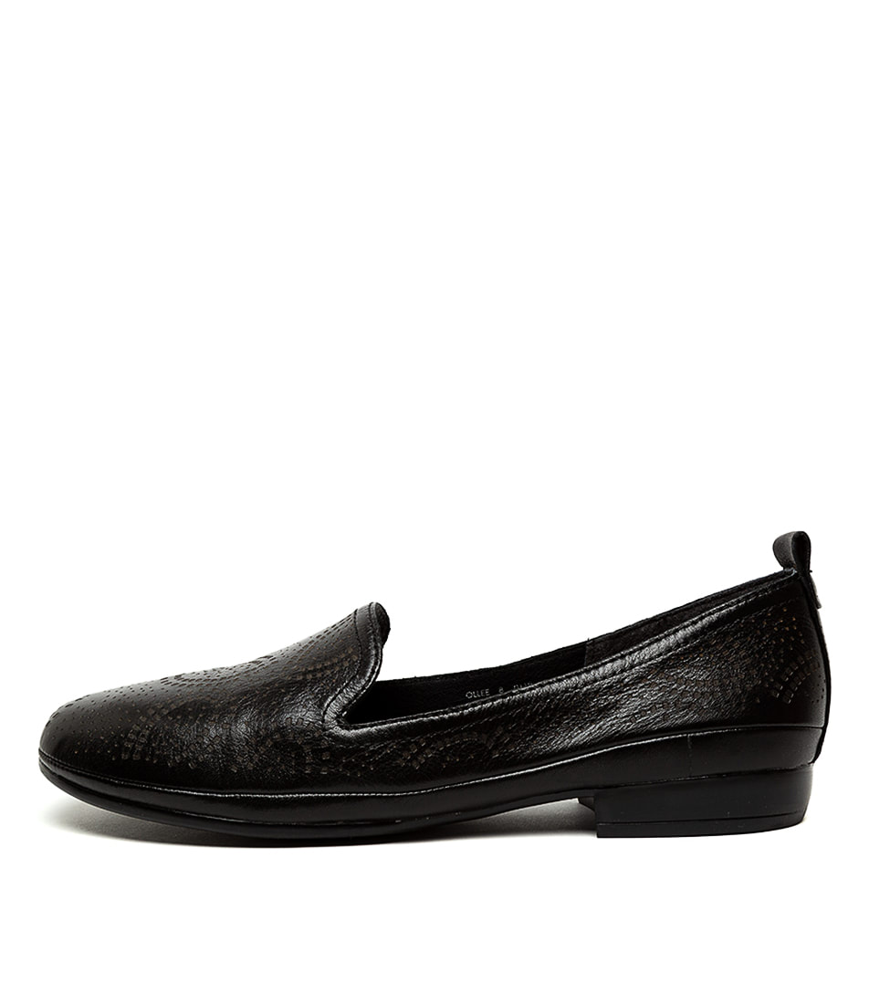 Buy Diana Ferrari Ollee Df Black E Flats online with free shipping