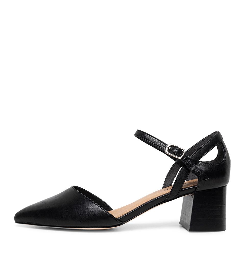 Buy Diana Ferrari Goody Df Black High Heels online with free shipping