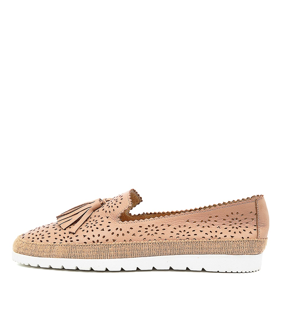 Buy Diana Ferrari Andaluse Df Latte Flats online with free shipping