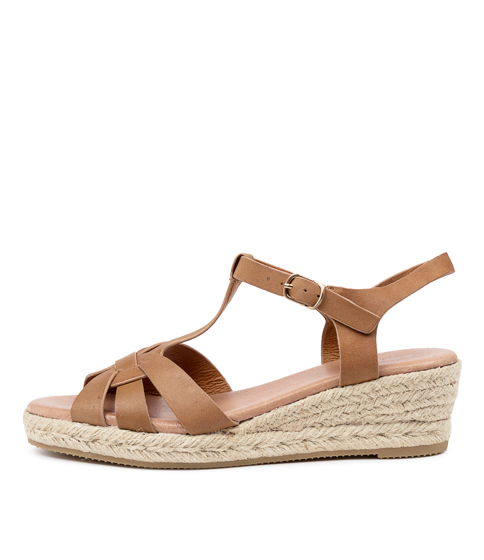 Buy Diana Ferrari Rahalia Df Tan Heeled Sandals online with free shipping