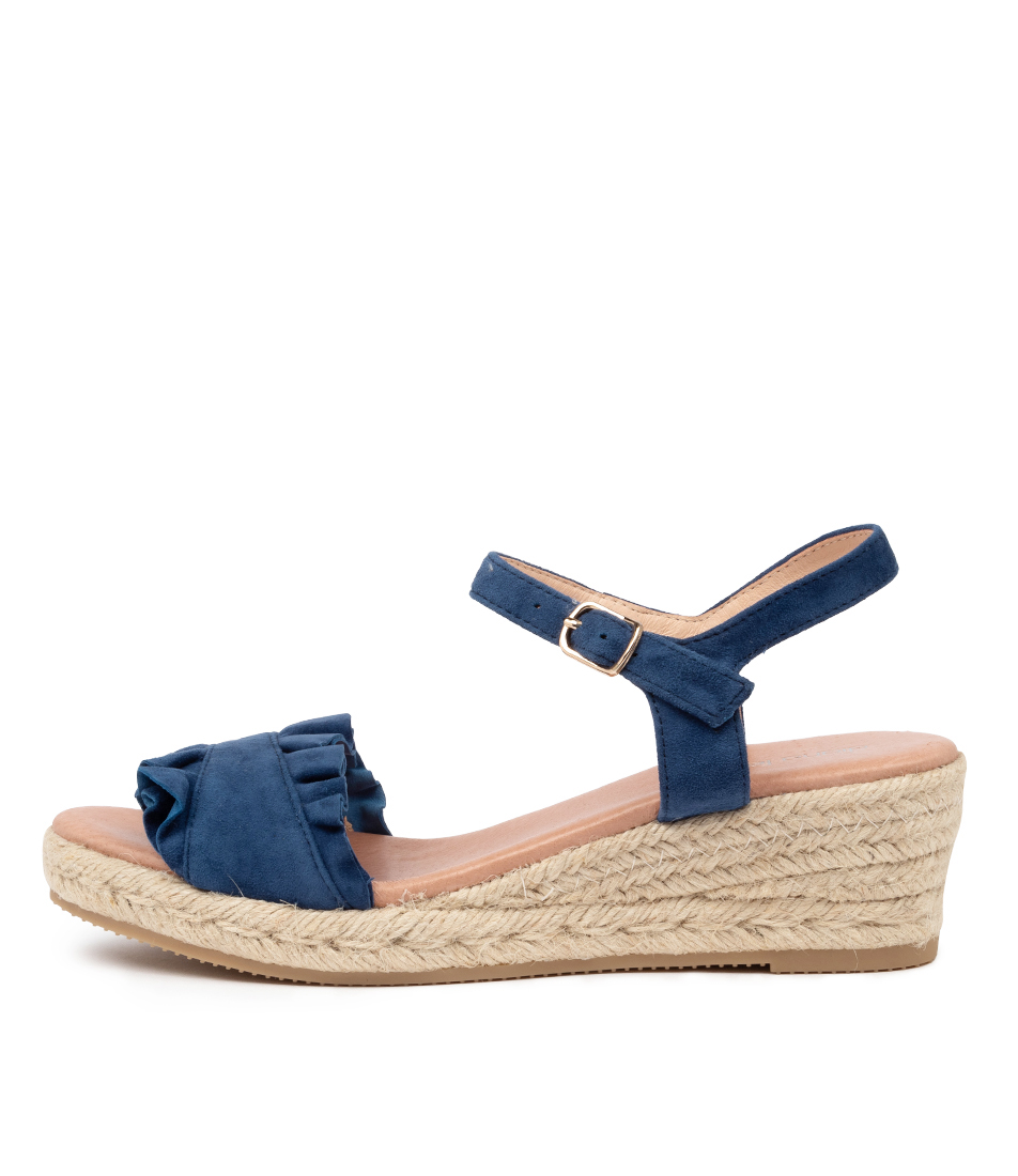 Buy Diana Ferrari Rida Df Blue Heeled Sandals online with free shipping