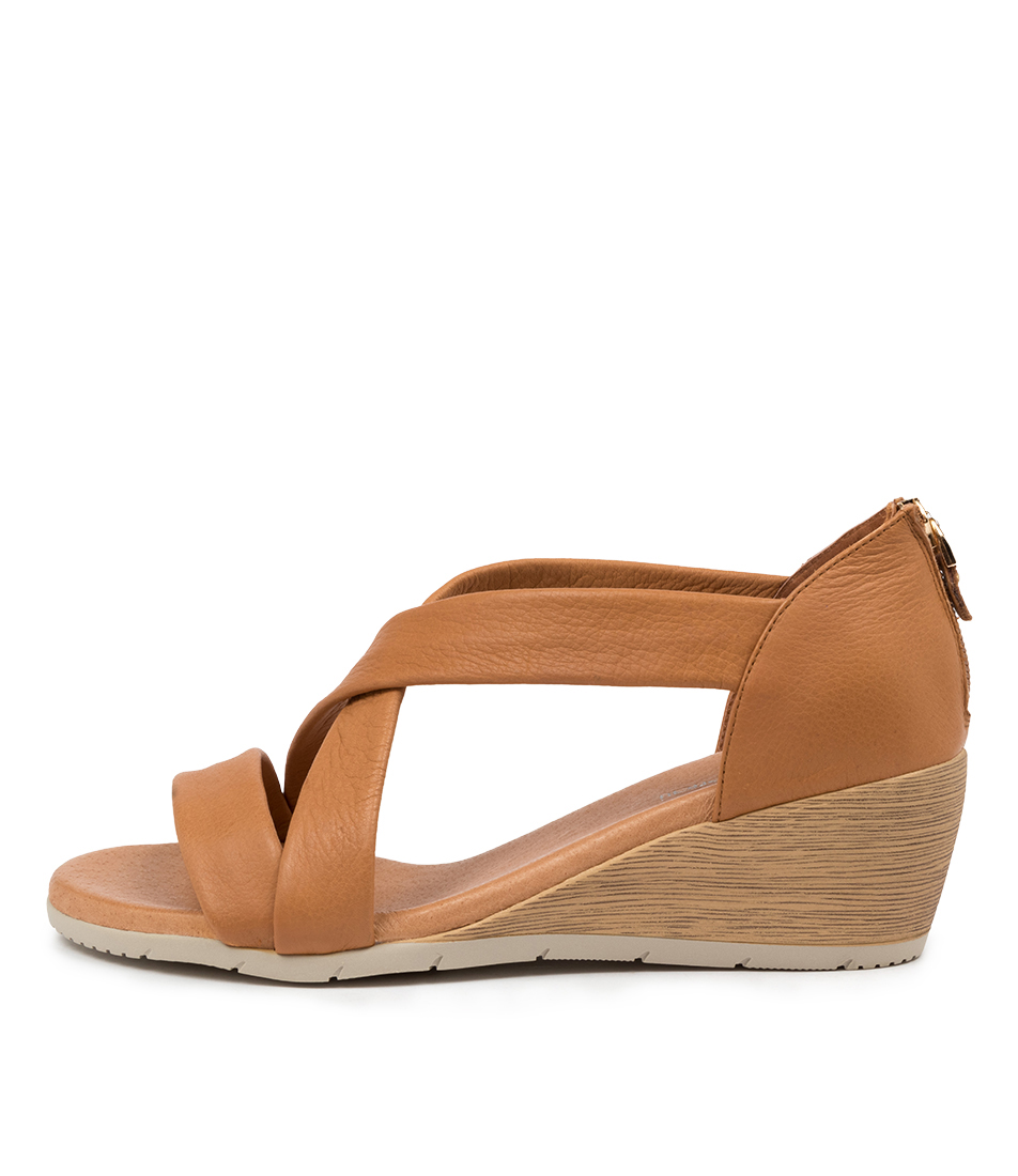 Buy Diana Ferrari Xian Df Dk Tan Heeled Sandals online with free shipping