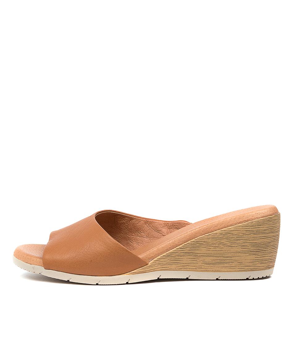 Buy Diana Ferrari Xandra Df Dk Tan Heeled Sandals online with free shipping