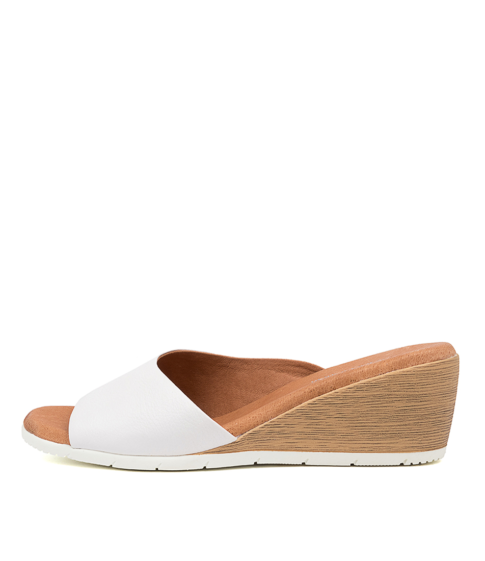 Buy Diana Ferrari Xandra Df White Heeled Sandals online with free shipping