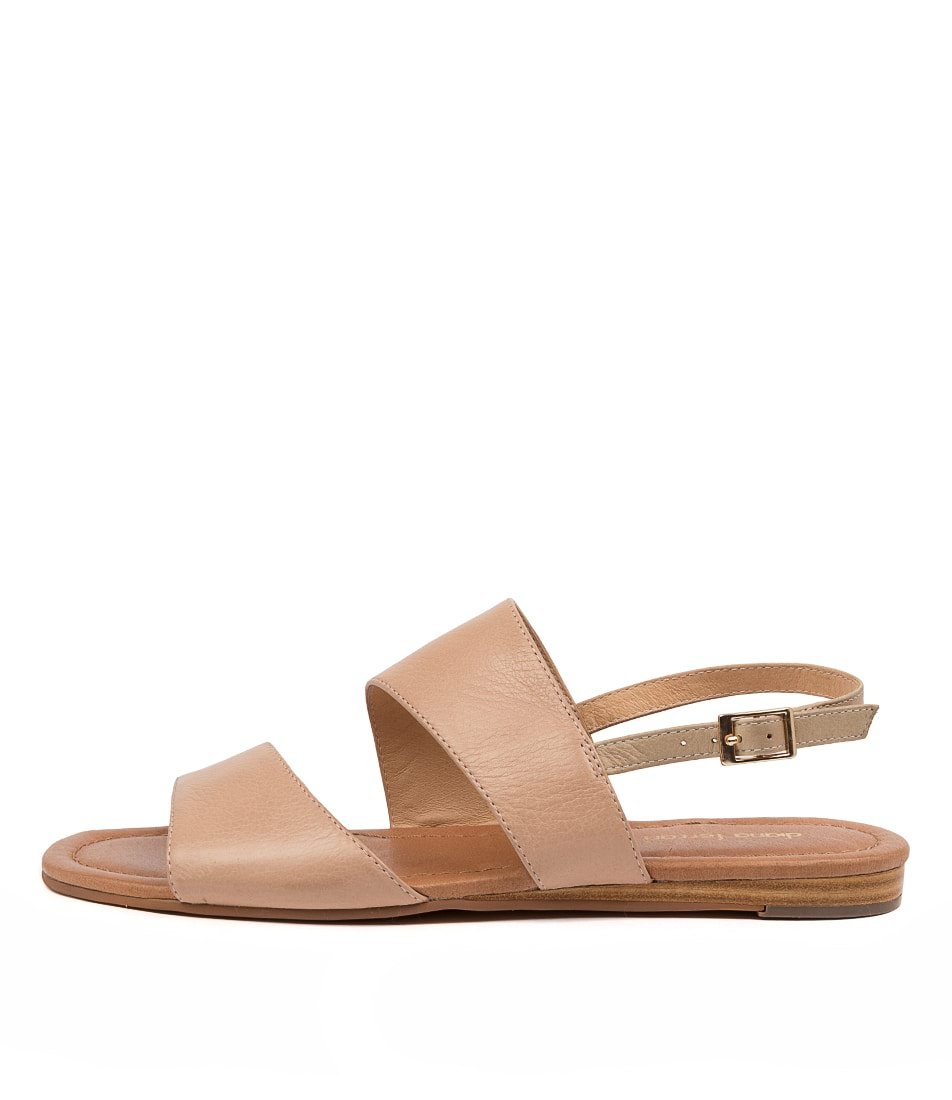 Buy Diana Ferrari Youngsa Df Dk Nude Taupe Flat Sandals online with free shipping