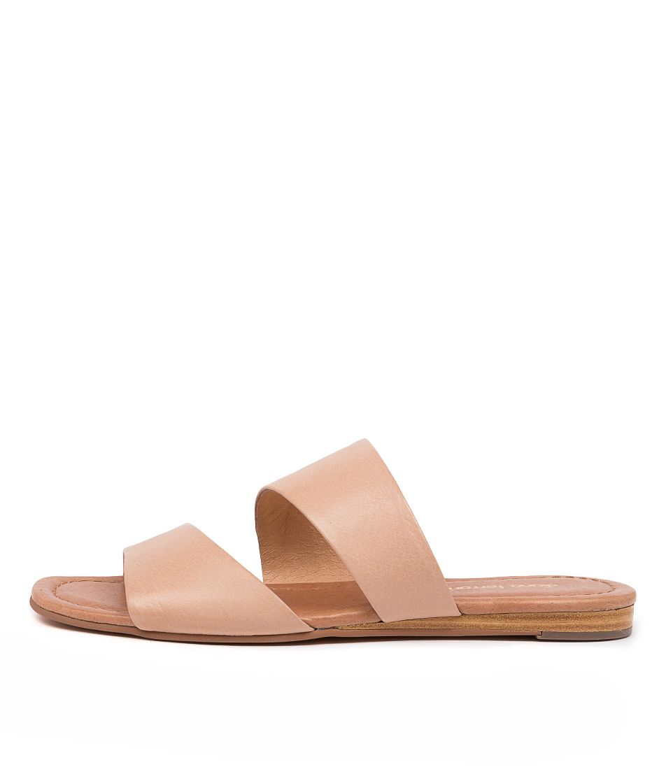 Buy Diana Ferrari Yellah Df Dk Nude Flat Sandals online with free shipping