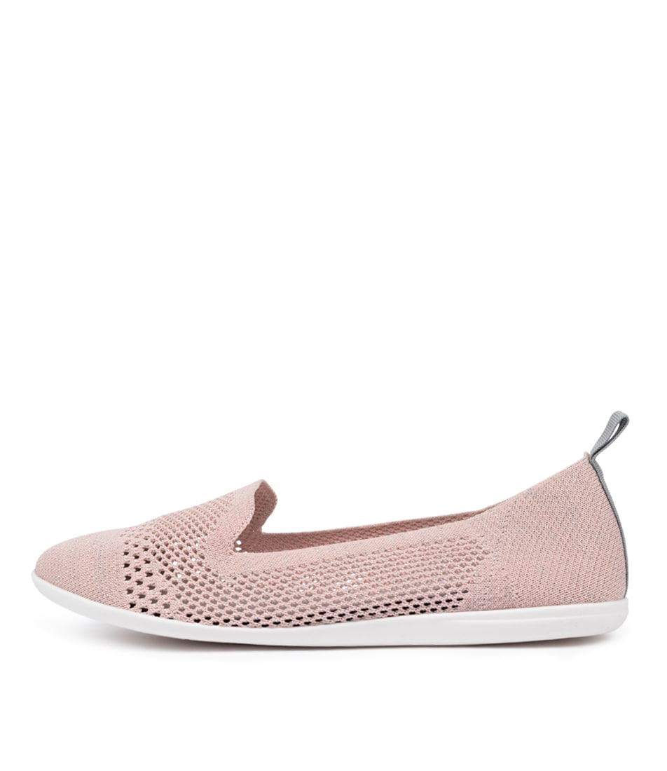 Buy Diana Ferrari Aitken Df Blush Platinum Flats online with free shipping