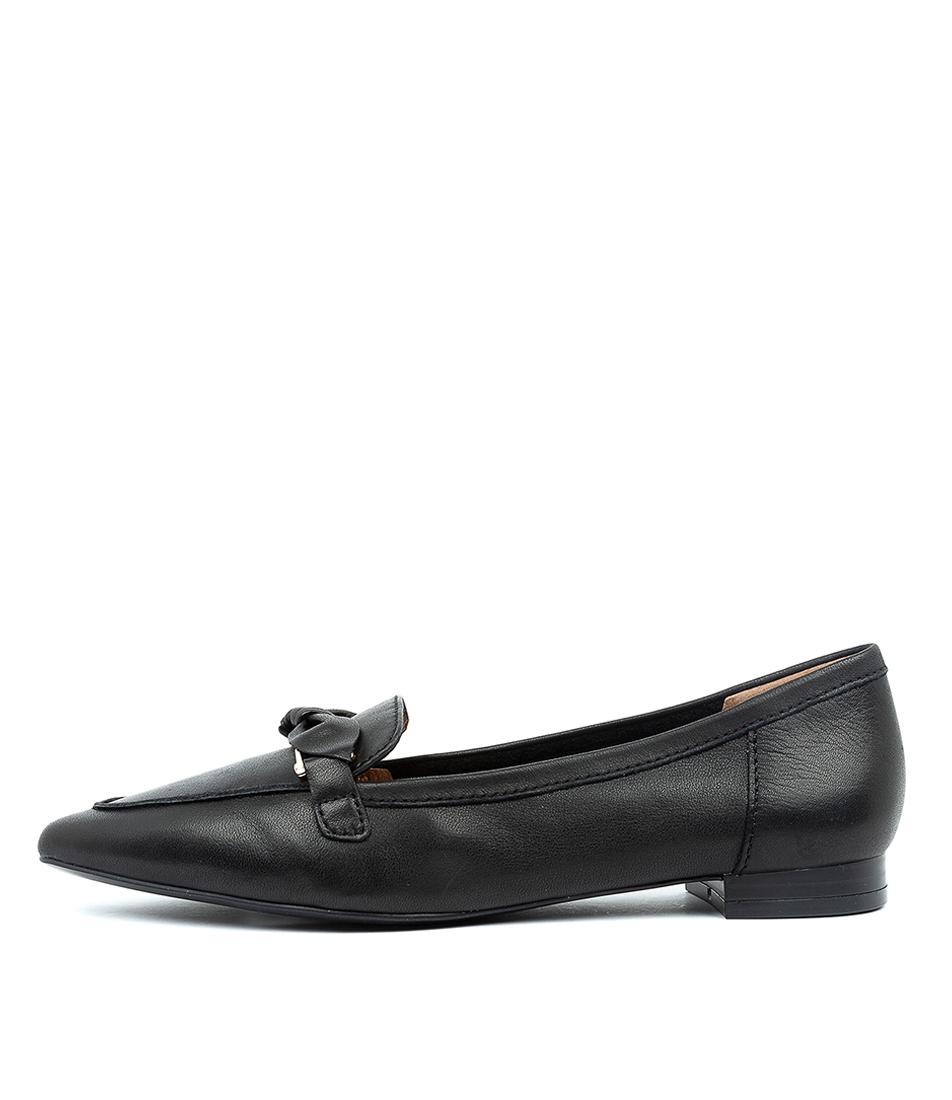 Buy Diana Ferrari Campari Df Black E Flats online with free shipping