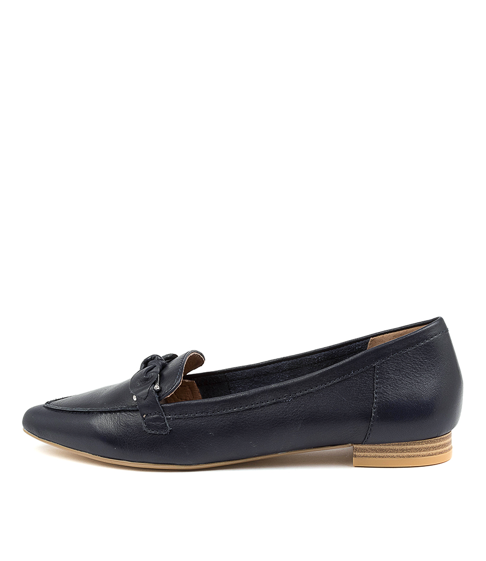 Buy Diana Ferrari Campari Df Navy Flats online with free shipping