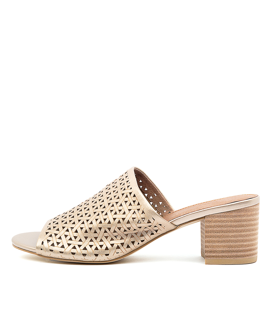 Buy Diana Ferrari Abiya Df Platinum Heeled Sandals online with free shipping