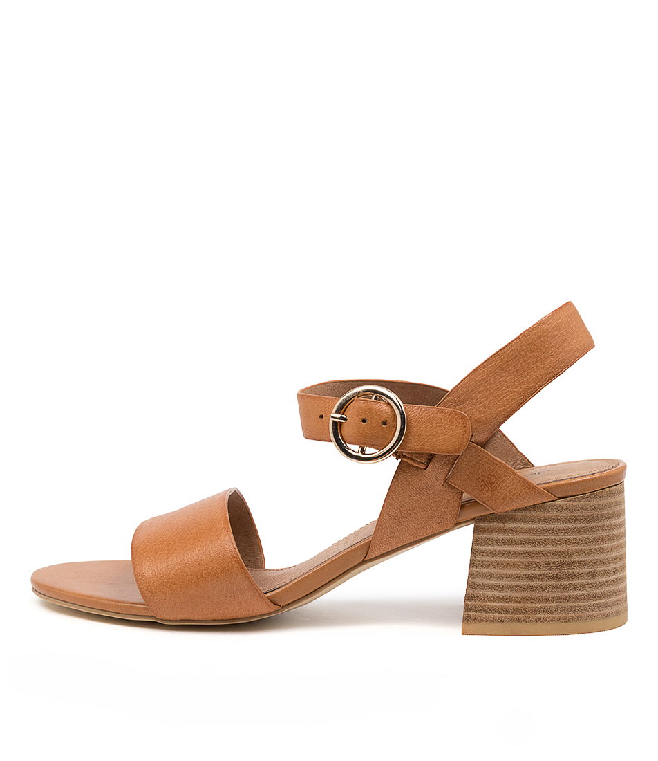 Buy Diana Ferrari Bartley Df Tan Heeled Sandals online with free shipping