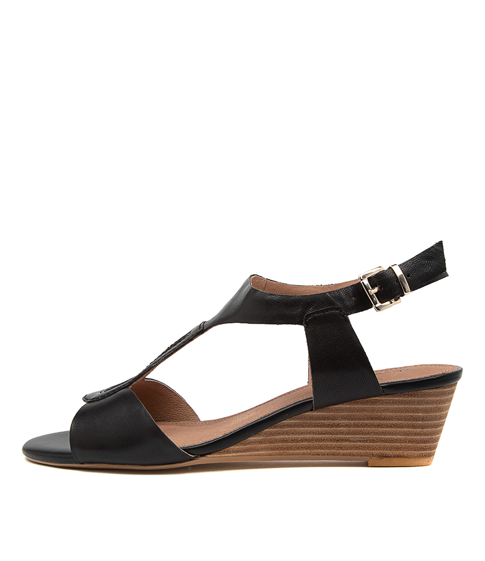 Buy Diana Ferrari Dimitri Df Black Heeled Sandals online with free shipping