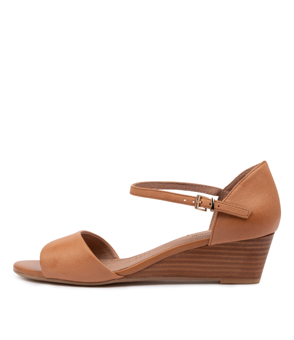 Buy Diana Ferrari Dustin Df Tan Heeled Sandals online with free shipping