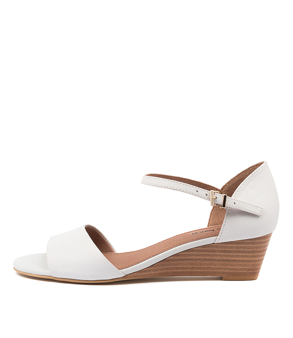 Buy Diana Ferrari Dustin Df White E Heeled Sandals online with free shipping