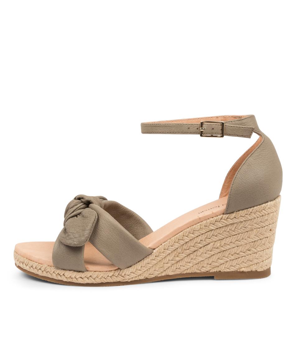 Buy Diana Ferrari Jennalea Df Khaki Heeled Sandals online with free shipping