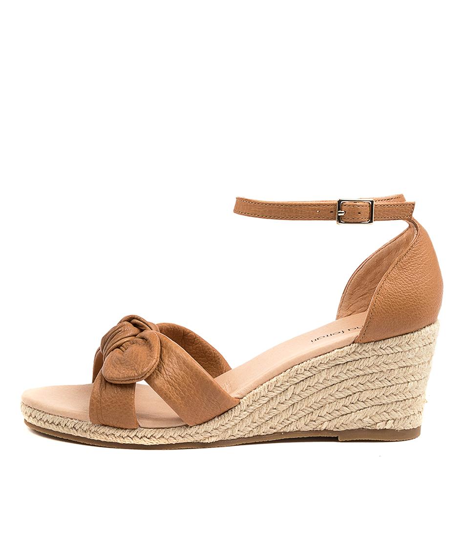 Buy Diana Ferrari Jennalea Df Tan Heeled Sandals online with free shipping