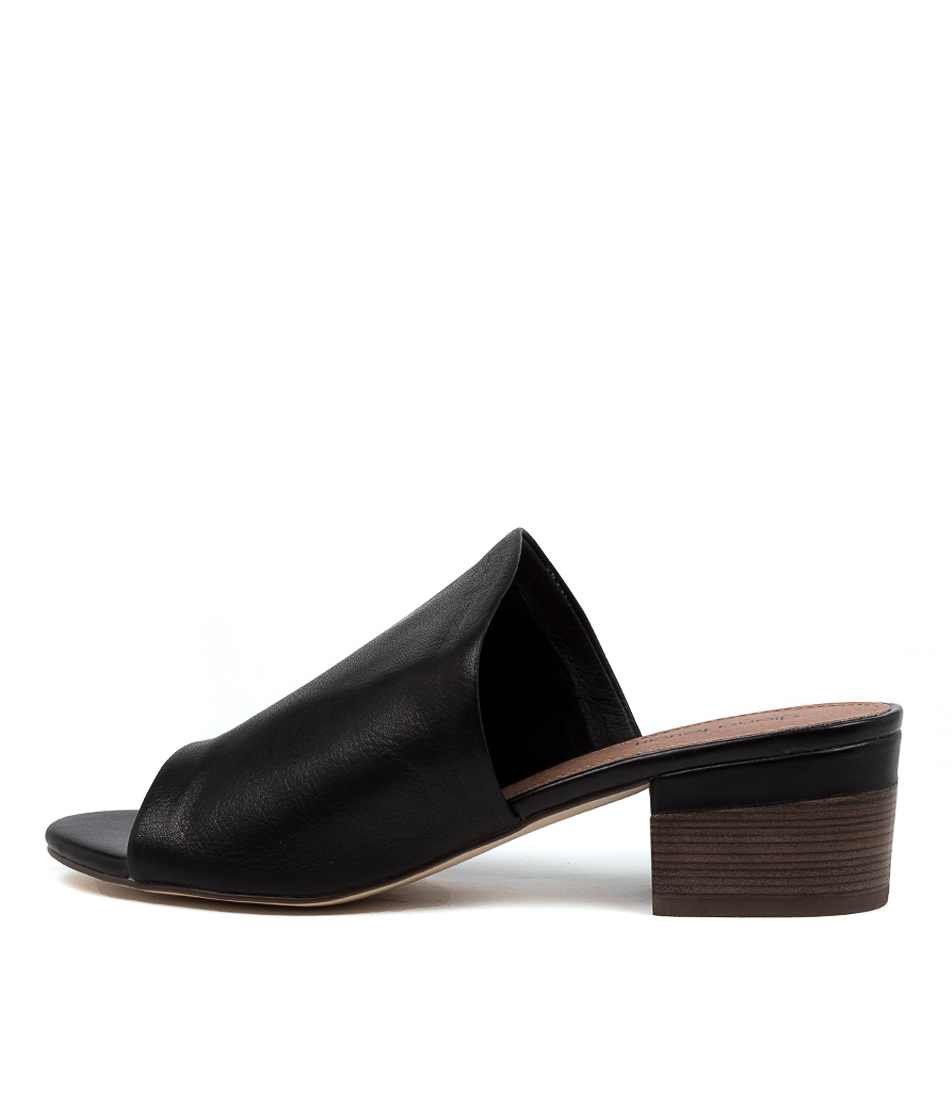 Buy Diana Ferrari Kassie Df Black E Heeled Sandals online with free shipping