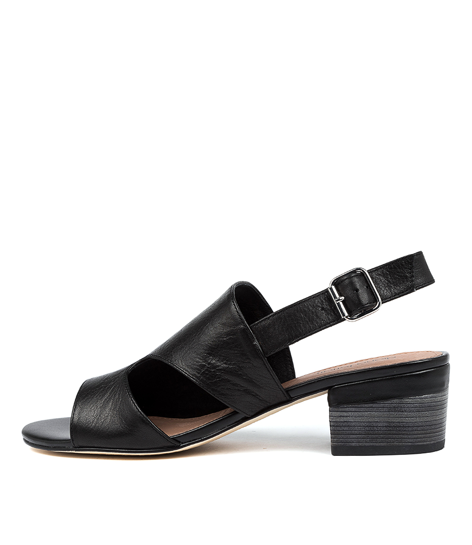 Buy Diana Ferrari Kitson Df Black E Heeled Sandals online with free shipping