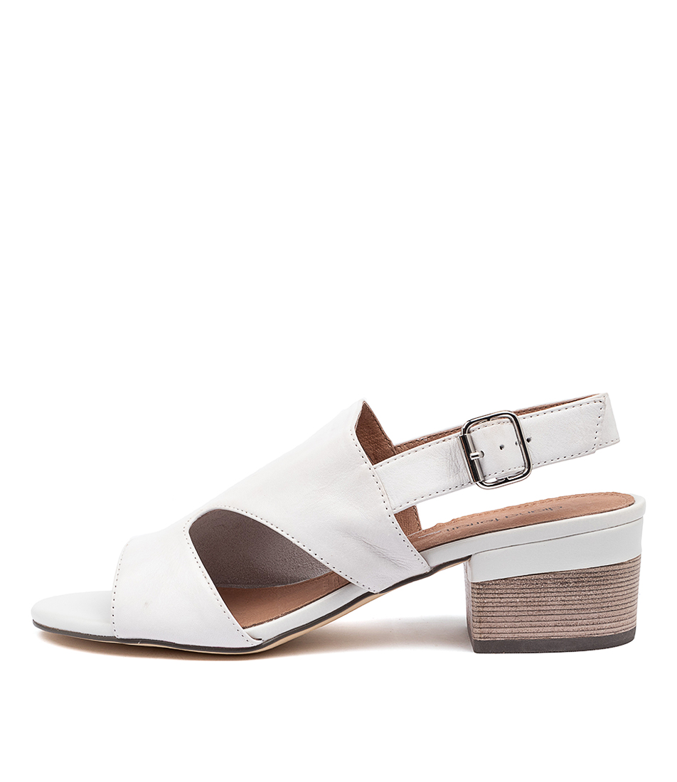 Buy Diana Ferrari Kitson Df White E Heeled Sandals online with free shipping