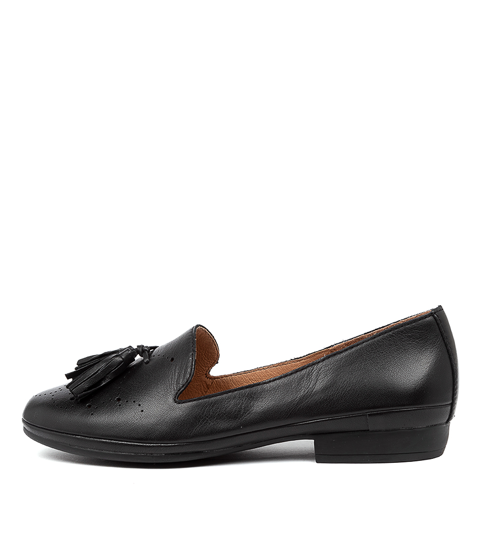 Buy Diana Ferrari Oceanna Df Black E Flats online with free shipping