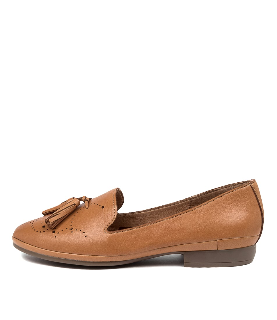Buy Diana Ferrari Oceanna Df Tan E Flats online with free shipping