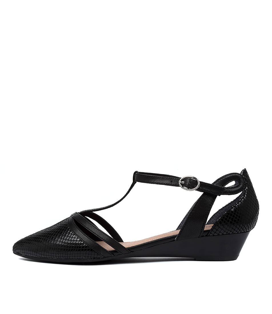 Buy Diana Ferrari Pacino Df Black High Heels online with free shipping