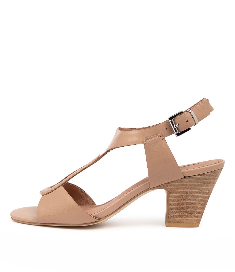 Buy Diana Ferrari Quenbee Df Nude Heeled Sandals online with free shipping