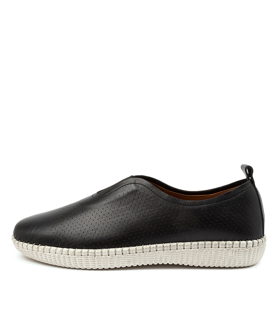 Buy Diana Ferrari Noora Df Black Flats online with free shipping
