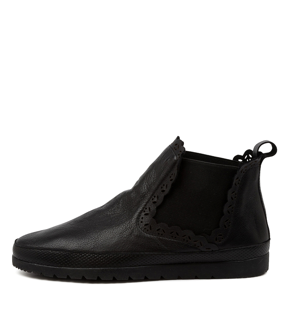 Buy Diana Ferrari Ajane Df Black Ankle Boots online with free shipping