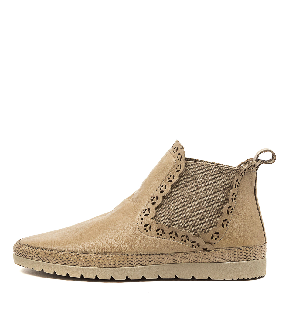 Buy Diana Ferrari Ajane Df Khaki Ankle Boots online with free shipping