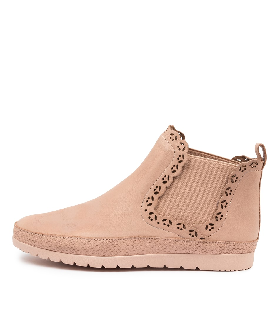 Buy Diana Ferrari Ajane Df Dk Nude Ankle Boots online with free shipping