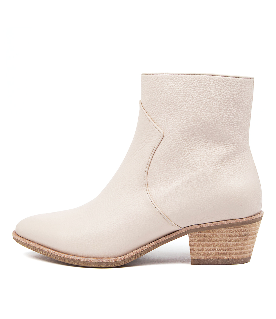 Buy Diana Ferrari Akule Df Winter White Ankle Boots online with free shipping