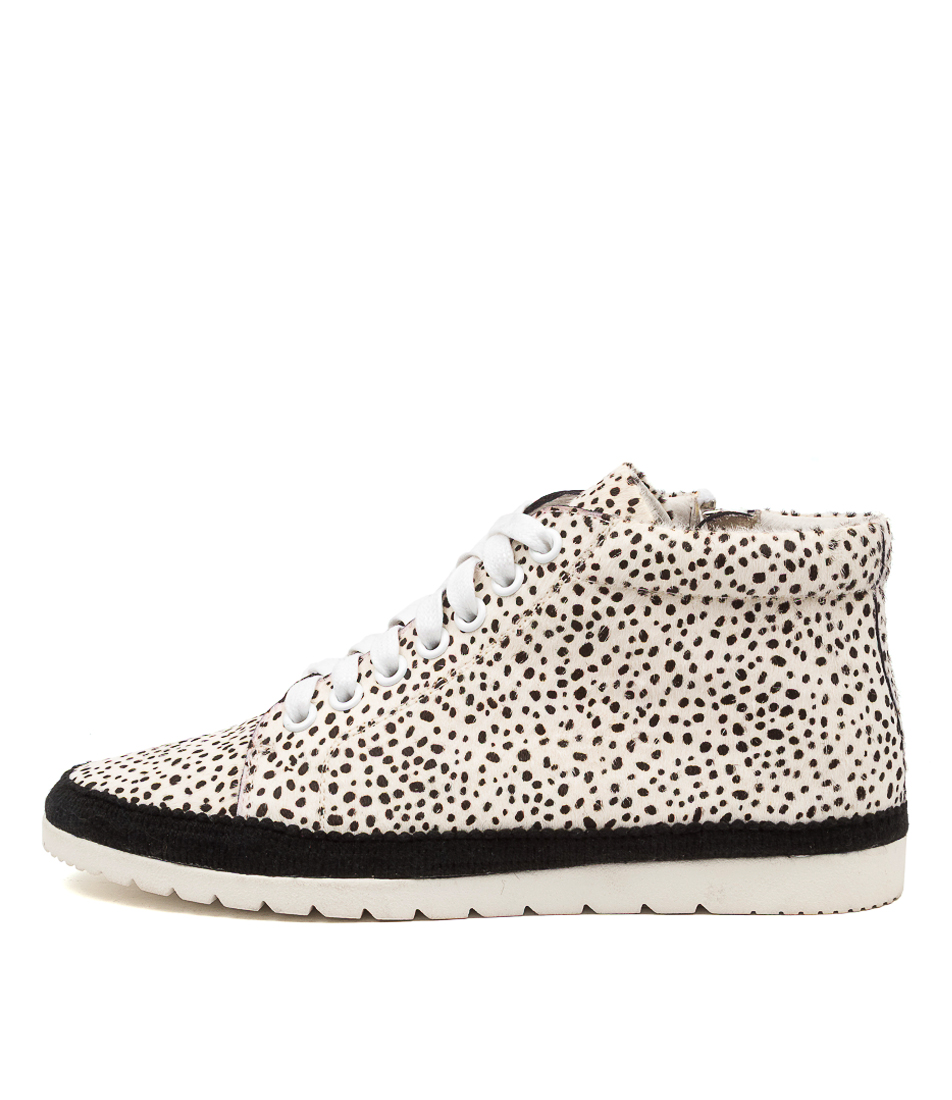 Buy Diana Ferrari Alyse Df White Speckle Ankle Boots online with free shipping