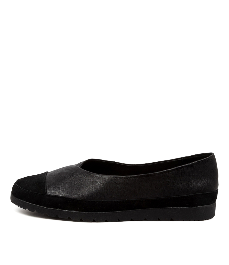 Buy Diana Ferrari Andon Df Black Sole Flats online with free shipping