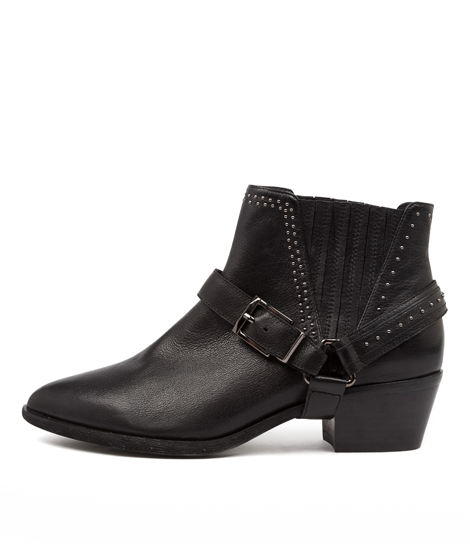 Buy Diana Ferrari Apower Df Black Ankle Boots online with free shipping
