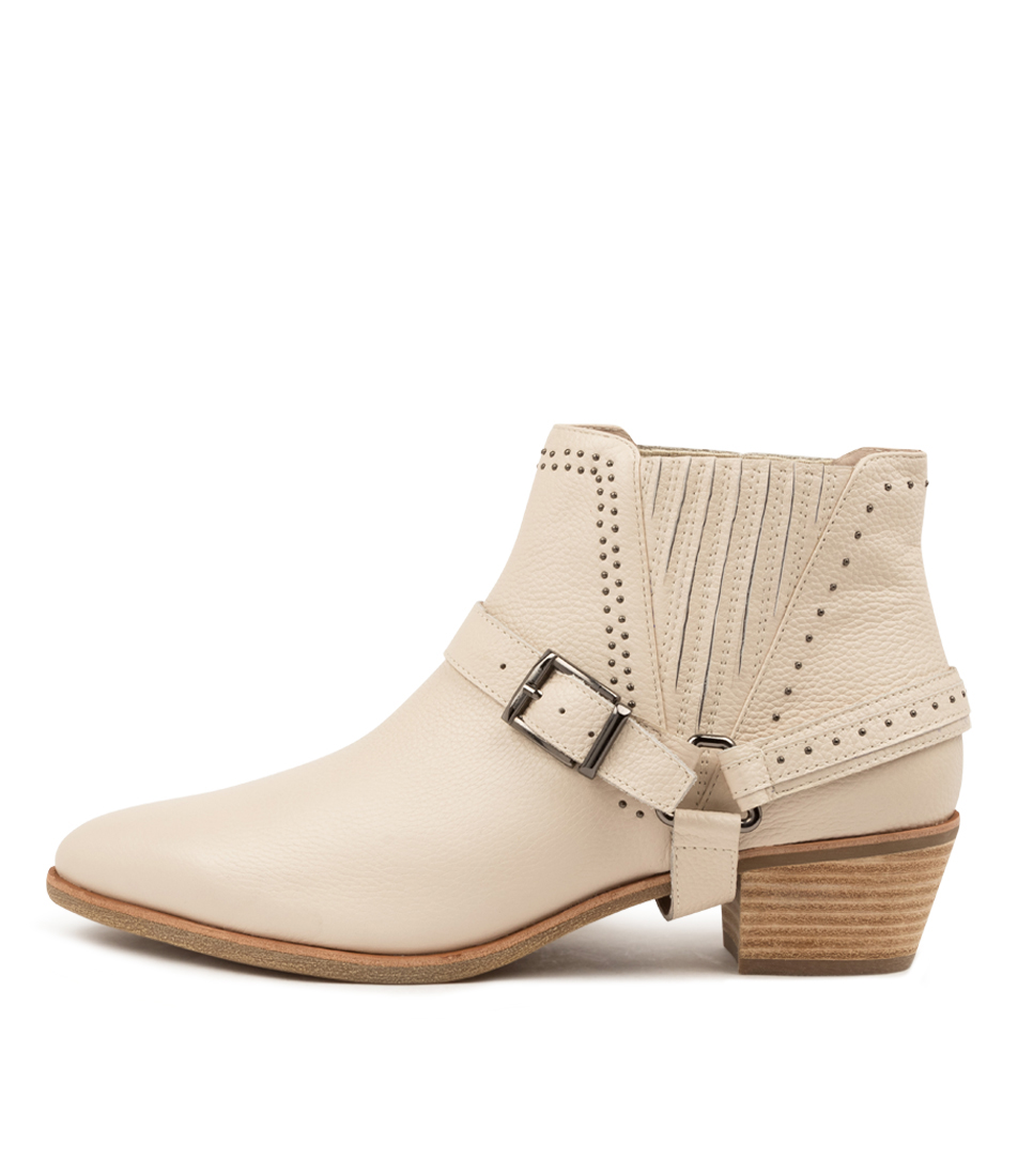 Buy Diana Ferrari Apower Df White Ankle Boots online with free shipping