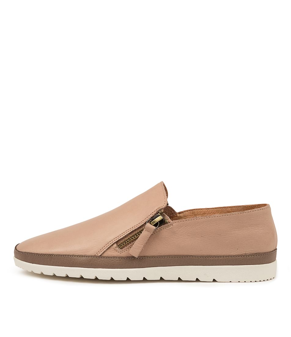 Buy Diana Ferrari Ashli Df Dk Nude Taupe Flats online with free shipping
