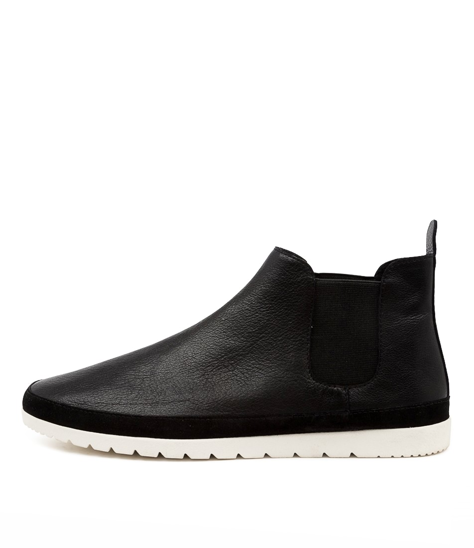 Buy Diana Ferrari Audra Df Black White Sole Ankle Boots online with free shipping