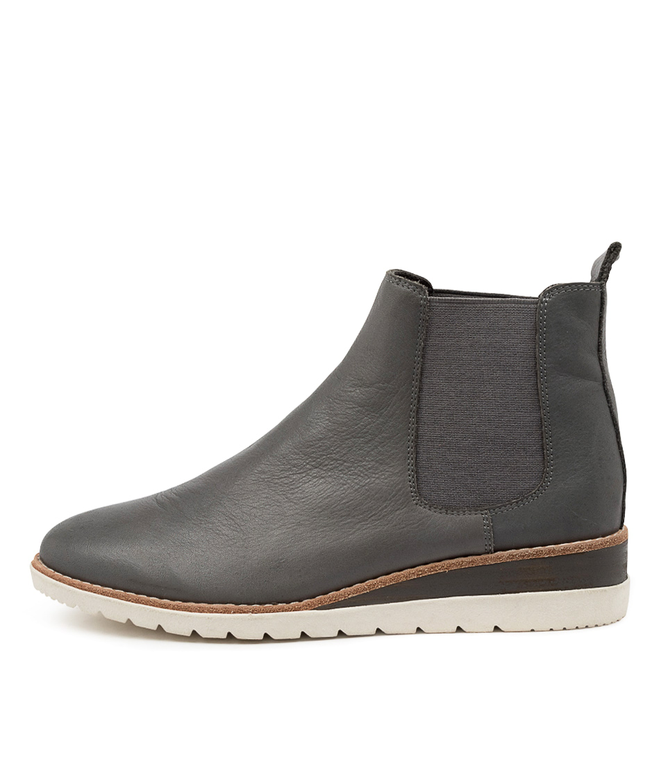 Buy Diana Ferrari Blynx Df Charcoal Ankle Boots online with free shipping