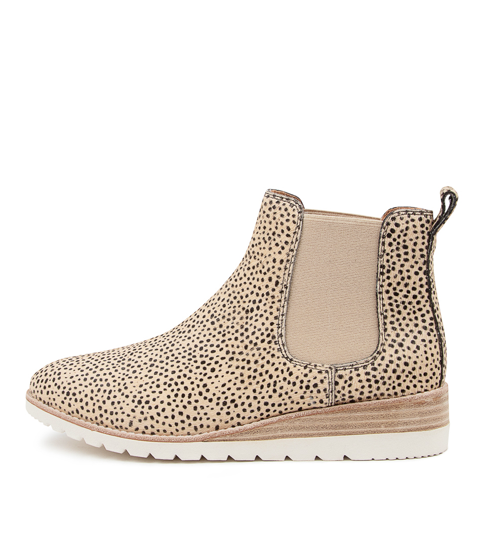 Buy Diana Ferrari Blynx Df Sand Speckle Ankle Boots online with free shipping