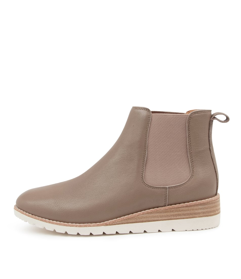 Buy Diana Ferrari Blynx Df Taupe Ankle Boots online with free shipping