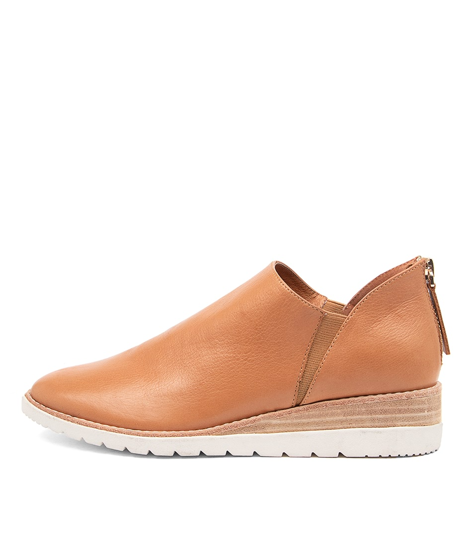 Buy Diana Ferrari Bodaway Df Dk Tan Flats online with free shipping
